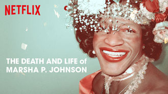 Netflix box art for The Death and Life of Marsha P. Johnson
