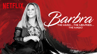 Netflix box art for Barbra: The Music ... The Mem'ries ......