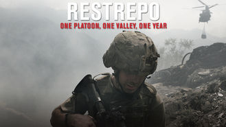 Netflix box art for Restrepo